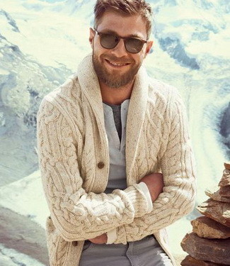 Autumn Essential: The Shawl Cardigan