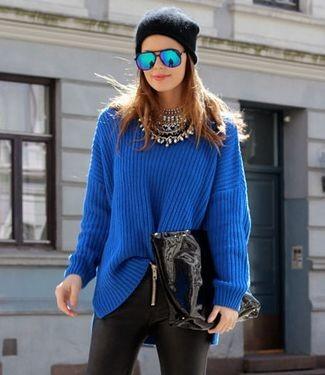 Cómo llevar un jersey largo : 5 maneras de combinar un jersey super calentito