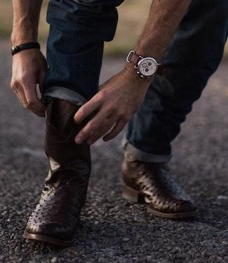 A Modern Man's Guide To Wearing Cowboy Boots