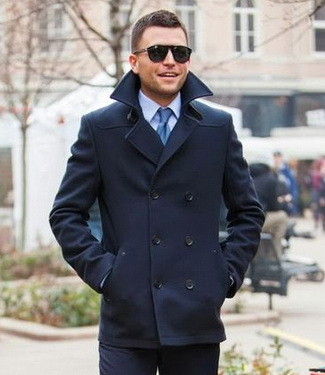 How To Wear: The Pea Coat