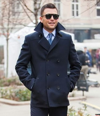 How To Wear: The Pea Coat | Men's Fashion