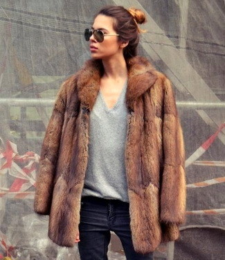 How To Wear: The Fur Coat