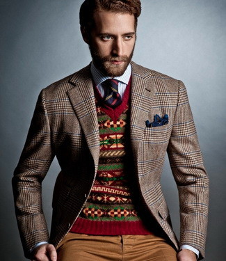 How To Wear: The Fair Isle Sweater