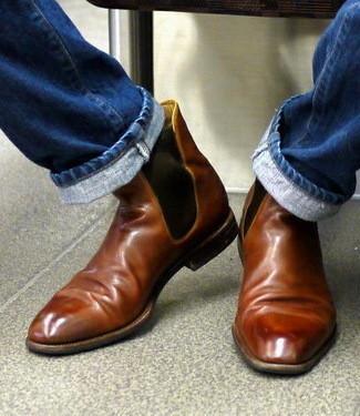 """Мужская обувь: с чем носить ботинки """"челси"""""""