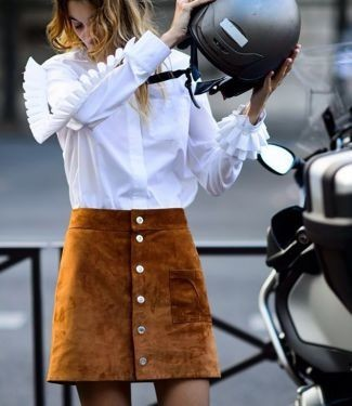Ran an die Knöpfe: So trägt man Knopfröcke