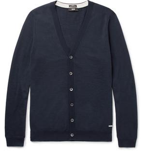 Hugo Boss Mardon Slim-Fit Virgin Wool Cardigan